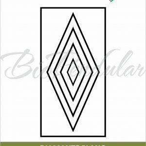 Diamante Plano - Adesivo
