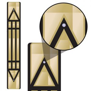 Luxor - Barra Atlante (bronze)
