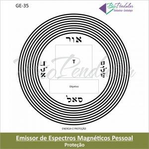 GE-35 - Emissor Espectros Magnéticos Pessoal